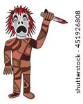 zombie vector illustration | Shutterstock .eps vector #451926808