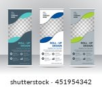 roll up banner template | Shutterstock .eps vector #451954342