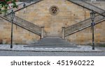 Staircase To Charles Bridge In...