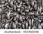 background in black and white... | Shutterstock . vector #451960348