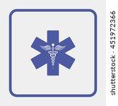 emergency medicine symbol | Shutterstock . vector #451972366