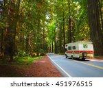 Road Trip Motor Home Driving...
