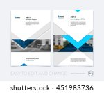 brochure template layout  cover ... | Shutterstock .eps vector #451983736