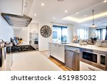 modern kitchenware including a... | Shutterstock . vector #451985032