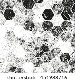 distressed overlay texture of... | Shutterstock .eps vector #451988716