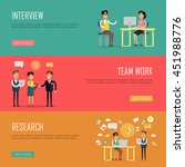 social people teamwork concept. ... | Shutterstock .eps vector #451988776