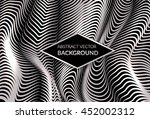 modern abstract background with ... | Shutterstock .eps vector #452002312