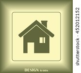 home icon | Shutterstock .eps vector #452012152