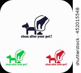 clean after pet illustration...