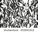 grunge abstract background of... | Shutterstock .eps vector #452041312