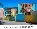 Colorful Buildings Of Caminito...