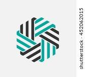 company vector logo design... | Shutterstock .eps vector #452062015