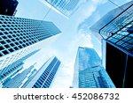 skyscrapers shot with...   Shutterstock . vector #452086732