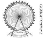 carousel vector 44 | Shutterstock .eps vector #452091712