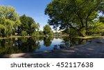 boston city public garden  | Shutterstock . vector #452117638