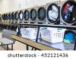 industrial washing machines in... | Shutterstock . vector #452121436
