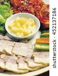 meat dishes in korea | Shutterstock . vector #452137186