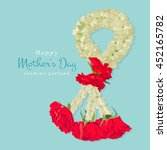 happy mother's day  thai... | Shutterstock .eps vector #452165782