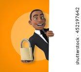 fun businessman | Shutterstock . vector #452197642