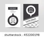 truck doodle | Shutterstock .eps vector #452200198