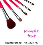 set of professional makeup... | Shutterstock . vector #45222475