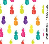 vector seamless pattern with... | Shutterstock .eps vector #452279602
