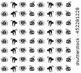 vector seamless pattern for...   Shutterstock .eps vector #452281228