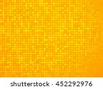 abstract yellow polka dot... | Shutterstock .eps vector #452292976