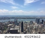 aerial view of the west side of ... | Shutterstock . vector #452293612