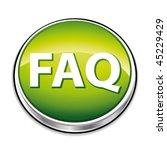 green faq button. vector...   Shutterstock .eps vector #45229429