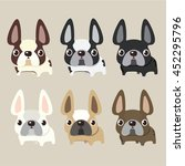 french bulldog design  pet and... | Shutterstock .eps vector #452295796