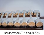 weight lifting | Shutterstock . vector #452301778