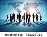 business group. business... | Shutterstock .eps vector #452328016