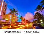 Miami Beach South Beach Sunset...