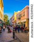 gibraltar  gibraltar  january 5 ... | Shutterstock . vector #452349442