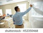 education  school  learning ... | Shutterstock . vector #452350468