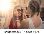 a new pair of sunglasses | Shutterstock . vector #452354476