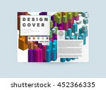business abstract template... | Shutterstock .eps vector #452366335
