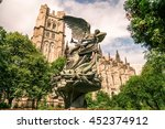 cathedral church  saint john... | Shutterstock . vector #452374912
