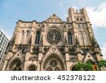 cathedral church  saint john... | Shutterstock . vector #452378122