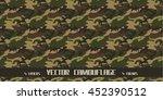 vector seamless camouflage | Shutterstock .eps vector #452390512