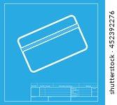 credit card symbol for download.... | Shutterstock . vector #452392276