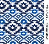 seamless pattern tribal art... | Shutterstock .eps vector #452404462