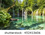 plitvice lakes  croatia... | Shutterstock . vector #452413606