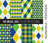 Rio Brazil Golf Style Patterns...