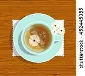 vector element for design. lay... | Shutterstock .eps vector #452445355