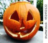Rotting Halloween Jackolantern...