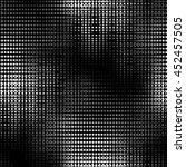 abstract grunge grid polka dot... | Shutterstock .eps vector #452457505
