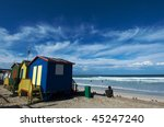 muizenberg beach colors | Shutterstock . vector #45247240