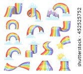 Rainbows In Different Shape...